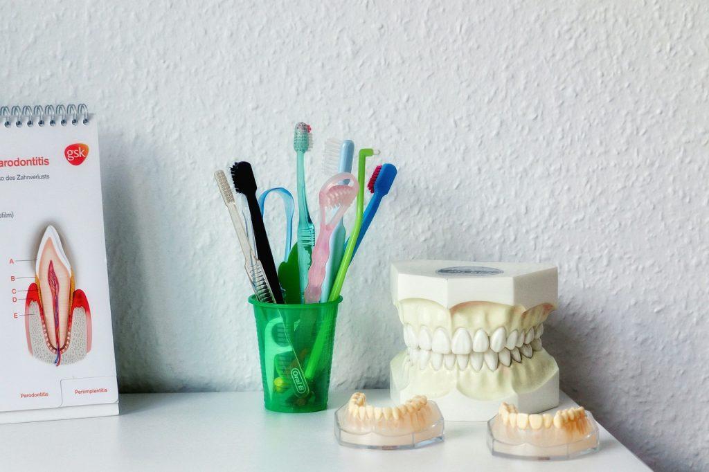 การดู สุขภาพปากและฟัน