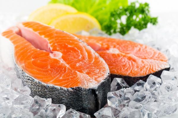 อาหารบำรุงสายตา ปลาแซลมอล
