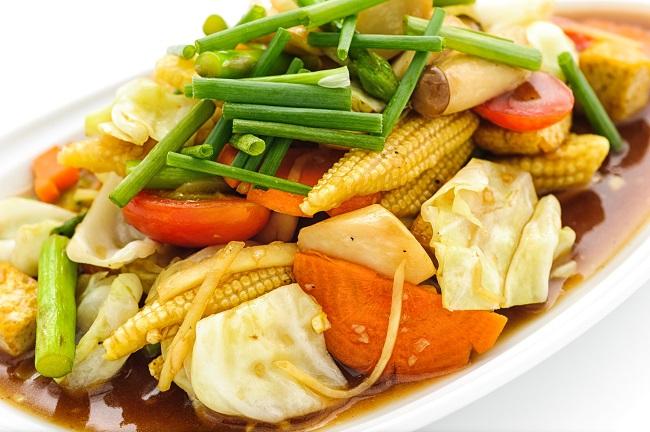 การรับประทาน โปรตีนเกษตร-อาหารเจหรือมังสวิรัติ