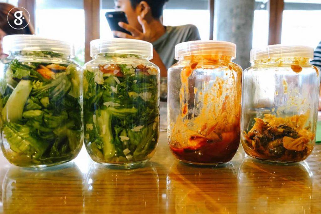 อาหารหมักดอง -ที่มีจุลินทรีย์ชนิดดี