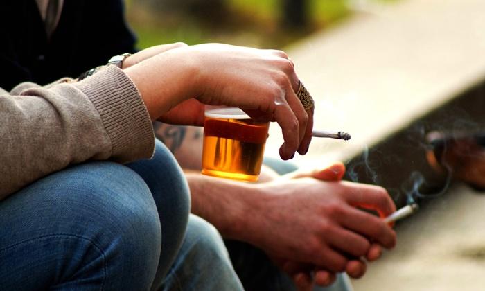 โรคมะเร็ง-ดื่มเหล้า สูบบุหรี่