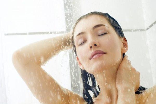 การดูแลผิวพรรณ งดอาบน้ำอุ่น