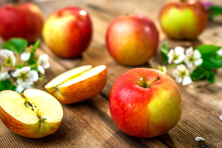 ป้องกันมะเร็งได้ -รวมประโยชน์ของแอปเปิ้ล