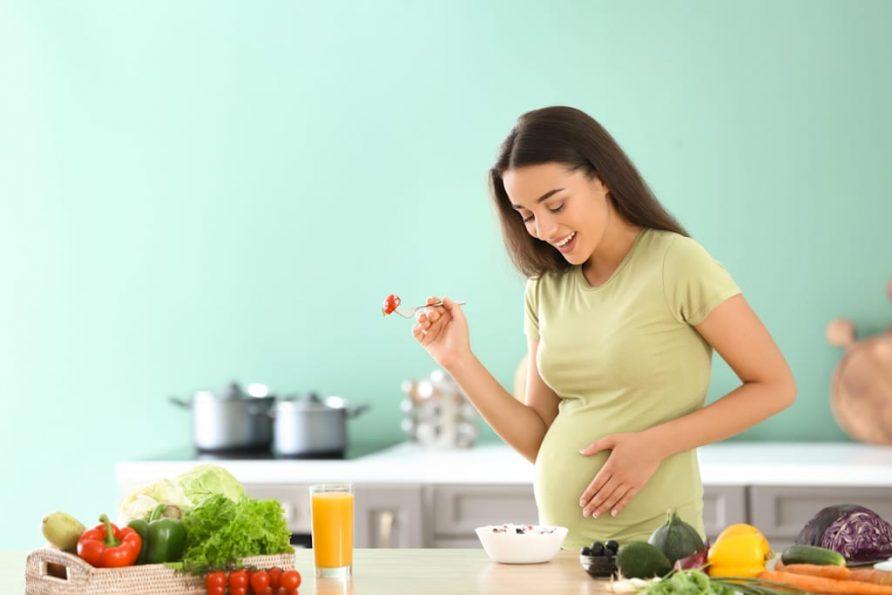คะน้าผักสำหรับสตรีมีครรภ์