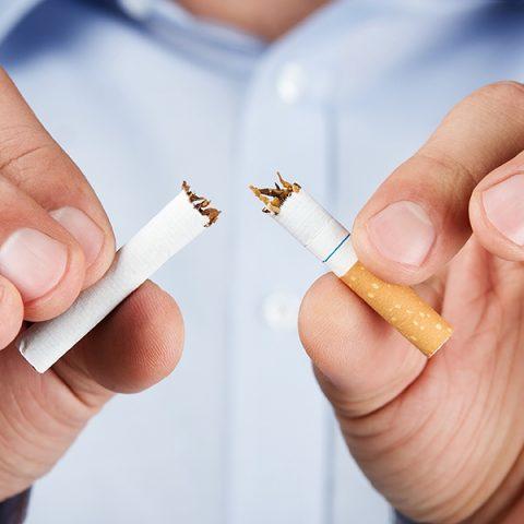 การเลิกสูบบุหรี่